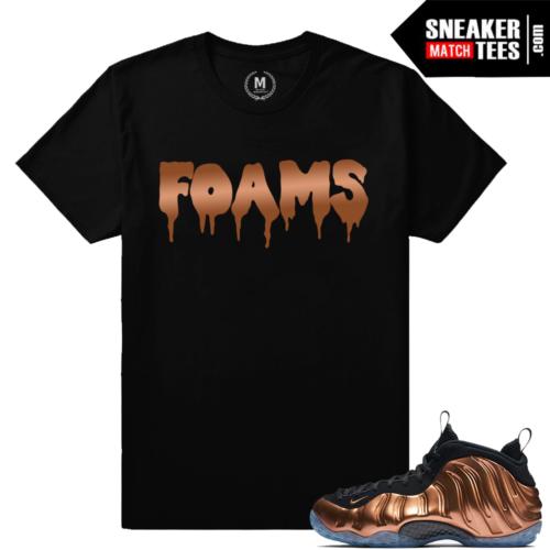 Sneaker Match Tees Copper Foams