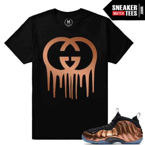 T shirt Copper Nike Foams