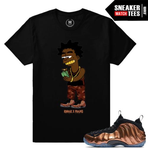 T shirts Matching Copper Nike Foams