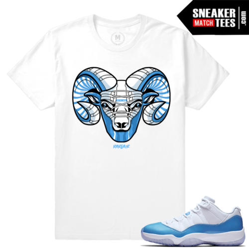 UNC 11 Low Sneaker tee shirt