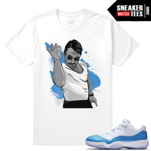 University Blue 11 Jordan T shirt