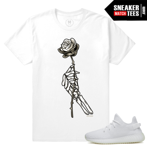 White Cream Yeezy Boost T shirts
