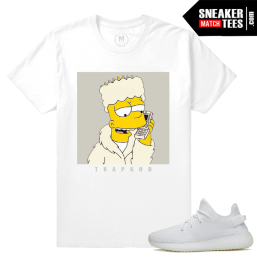 Yeezy Boost 350 Cream White T shirt Match