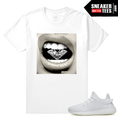 Yeezy Boost White Cream Tee shirts