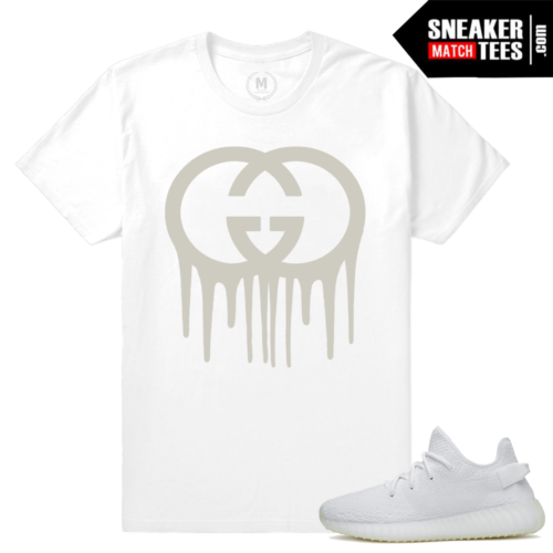 Yeezy Boost White Cream t shirt
