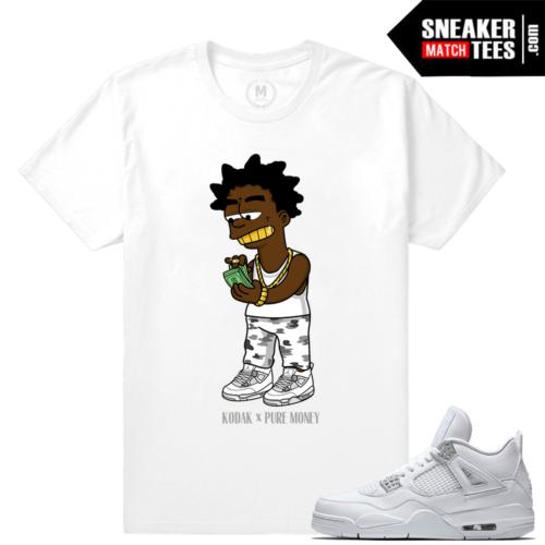 Air Jordan 4 Pure Money T shirts