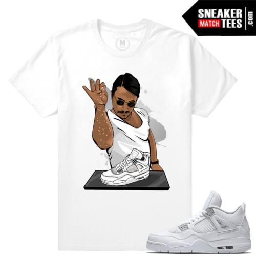 Pure Money 4 Jordan Tee Shirt match