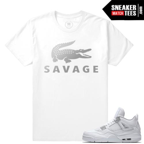 Pure Money 4s Matching t shirt