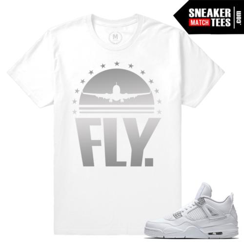 Pure Money 4s Sneaker tee