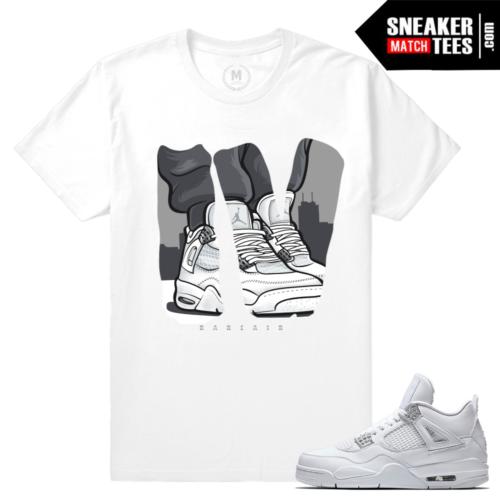 Pure Money Air jordan 4 Matching T shirt