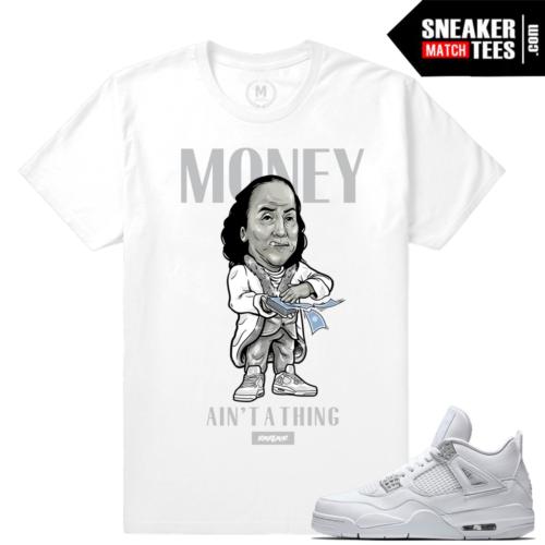 Shirts Pure Money 4 Jordan Retro