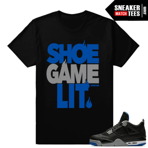 AJ 4 T-Shirt to Match Motorsport Alternate