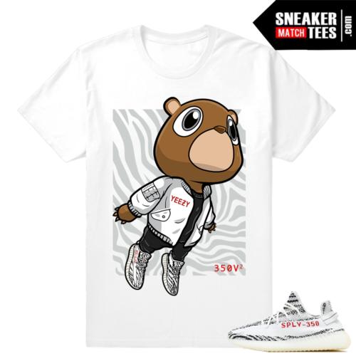 Adidas Yeezy Boost 350 V2 Yeezy White Shirt