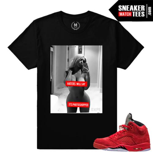 Air Jordan 5 matching shirts