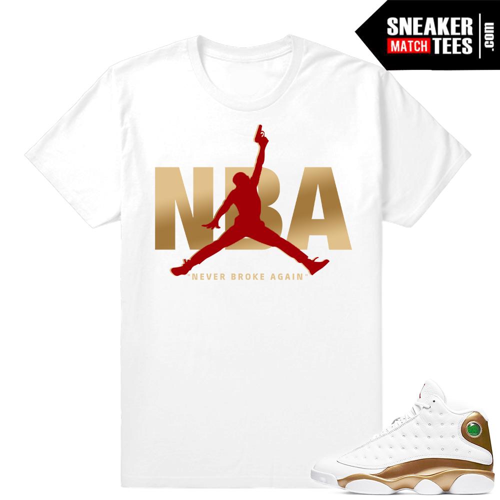0721df15e3d0 Jordan 6 golden harvest shirts match Retro 6 sneaker tees. DMP Pack Shirts  to Match Jordan 13