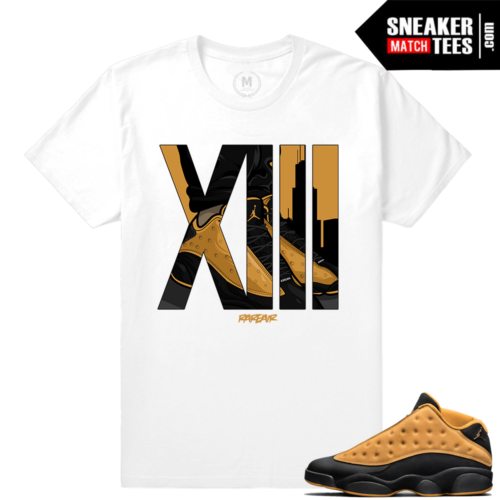 Jordan 13 Chutney Sneaker t shirts