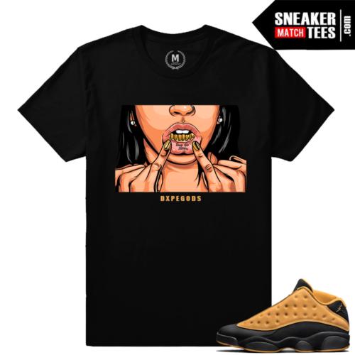 Jordan 13 Chutney Tee shirts
