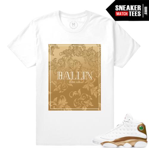 Jordan 13 DMP Pack Match Sneaker tees