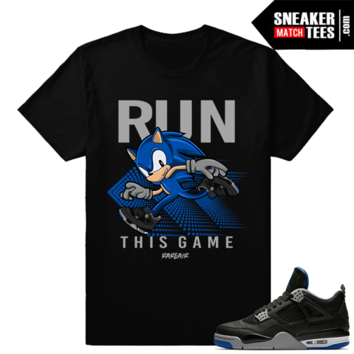 Jordan 4 Alternate Motorsport Match Shirts