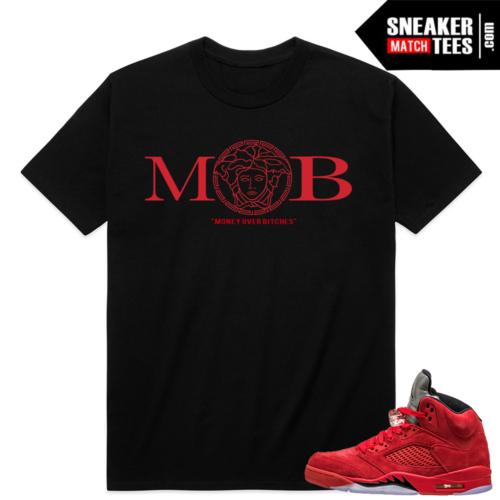 Jordan 5 sneaker match shirt