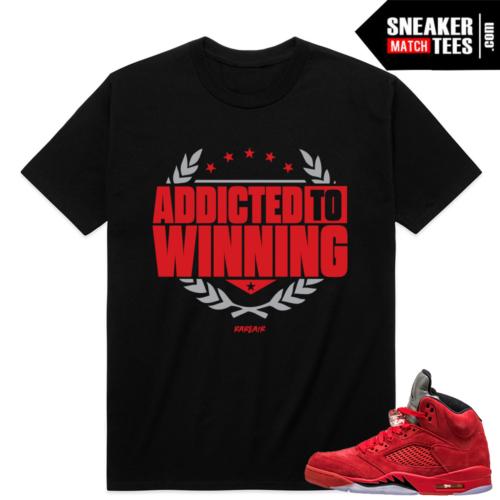 Jordan Retro 5 sneaker match shirt