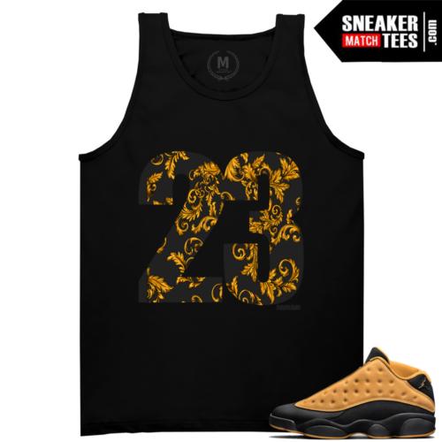 Jordan t shirt Match Chutney 13s