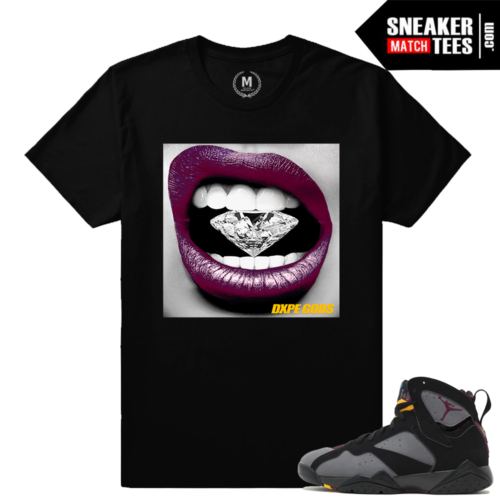 Jordans 7 Bordeaux Sneaker tees Shirt