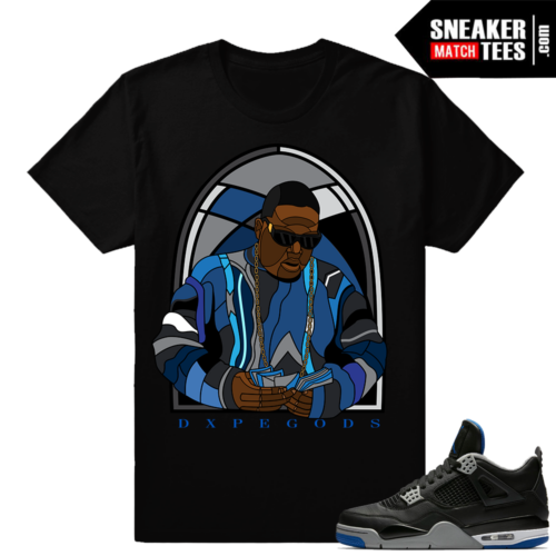 Match Jordan 4 Motorsport Alternate Shirts