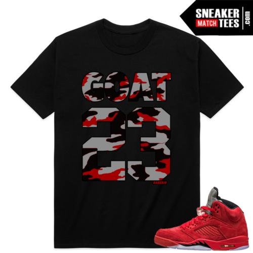Retro 5 sneaker tees shirts