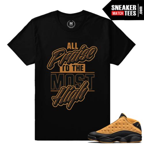 Shirt to match Jordan 13 Chutney