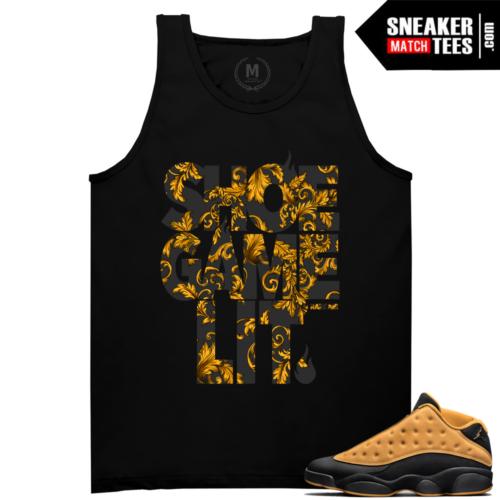 Sneaker tees Jordan t shirt Chutney 13s