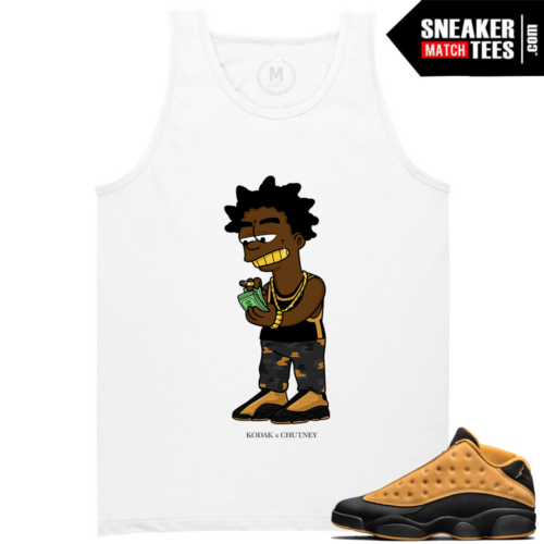 Sneaker tees Match Jordan 13 Chutney