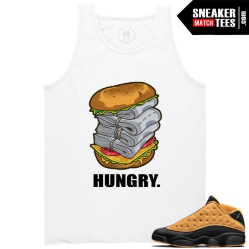 T shirts Matching Jordan 13 Chutney