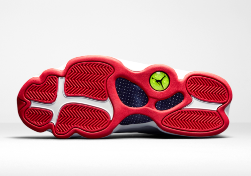 Jordan 13 History of Flight sole view