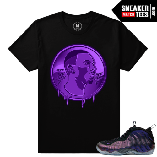 Foamposites shirts match Eggplant Foams