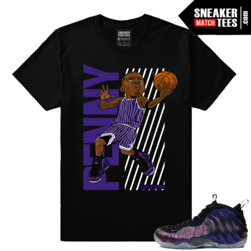 Foamposites sneaker t shirt match