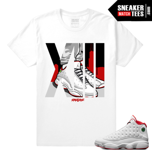 Jordan 13 shirt History of Flight