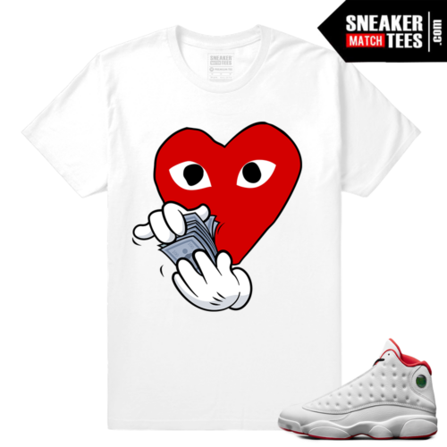 Jordan 13s shirt match History of Flight
