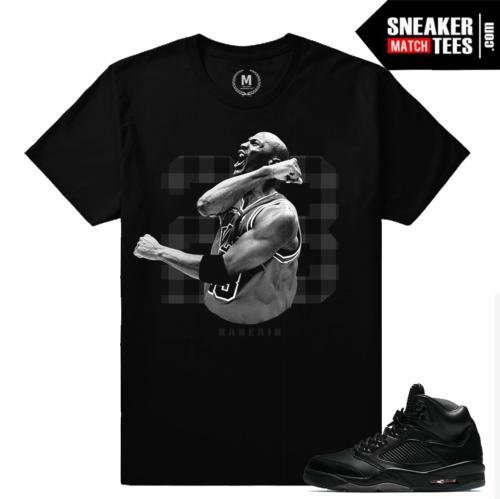Jordan 5 Pinnacle Black T shirt