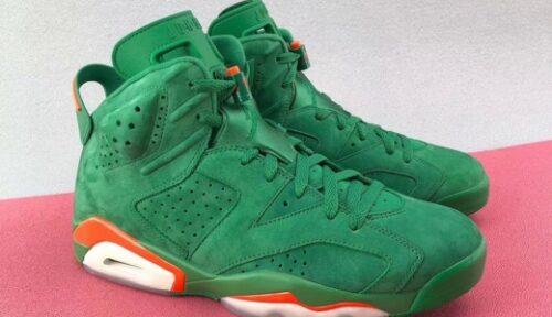 Jordan Release Date Gatorade 6 Green