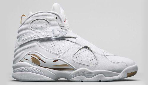 Jordan Release Dates OVO 8s white