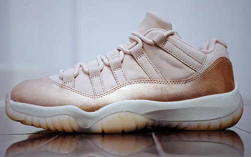 Jordan Release Dates Rose Gold 11s