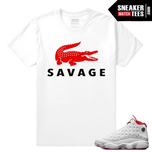 Jordan Retro 13 streetwear sneaker tees