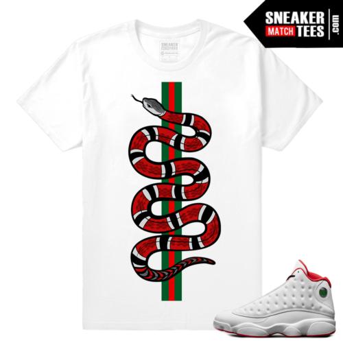 Retro 13 streetwear sneaker tee shirt
