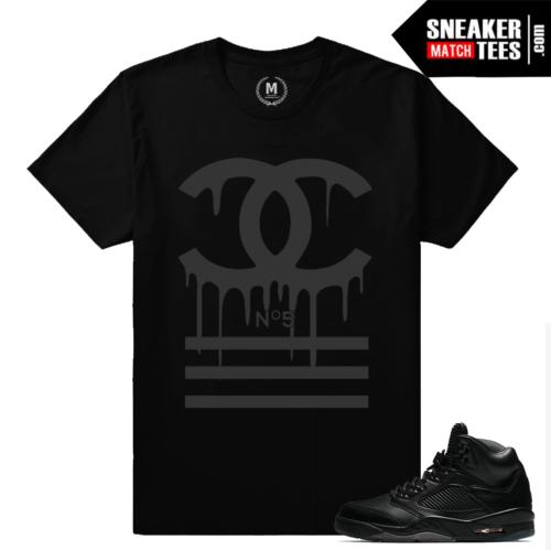 Retro 5 Black Pinnacle Shirts