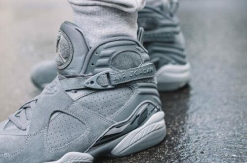 Air Jordan 8 Cool Grey New Jordans