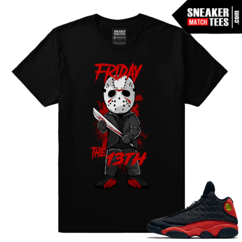 Bred 13s sneaker shirts to match