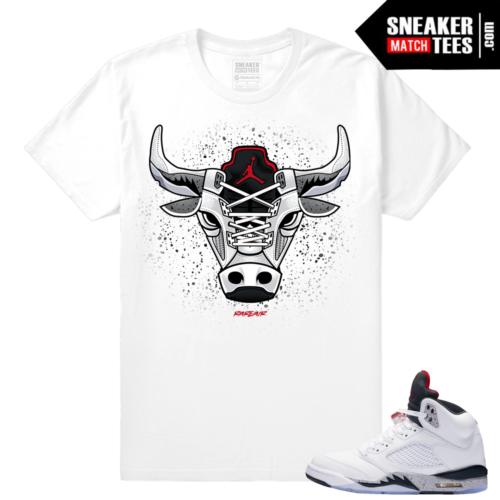 Cement 5s Sneaker tees