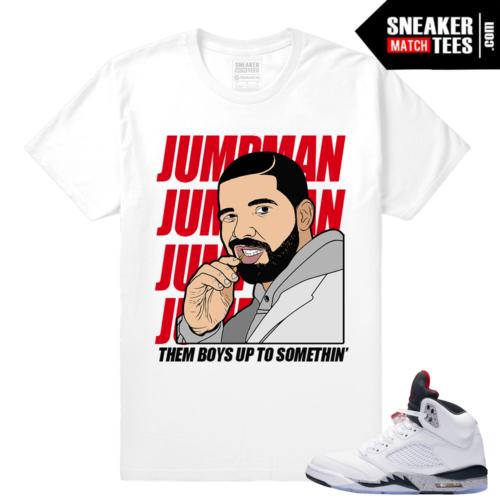 Cement Jordan 5 t shirt
