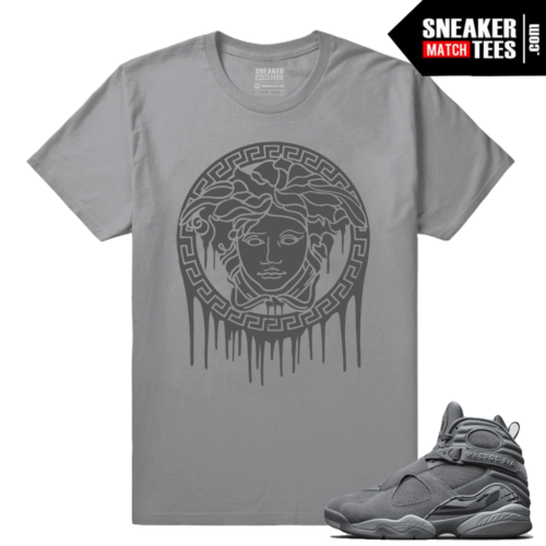 Cool Grey shirts match Jordan 8